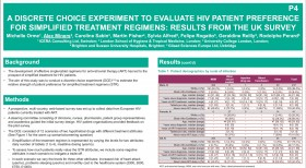 A Discrete Choice Experiment to Evaluate HIV Patient Preference for Simplified Treatment Regimens: Results from the UK Survey